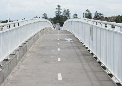 A bridge into the distance
